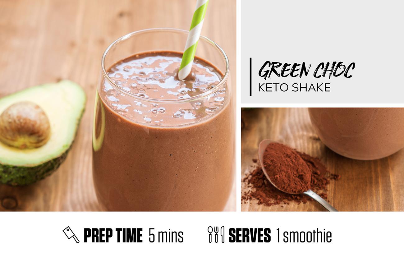 Green Choc Keto Shake