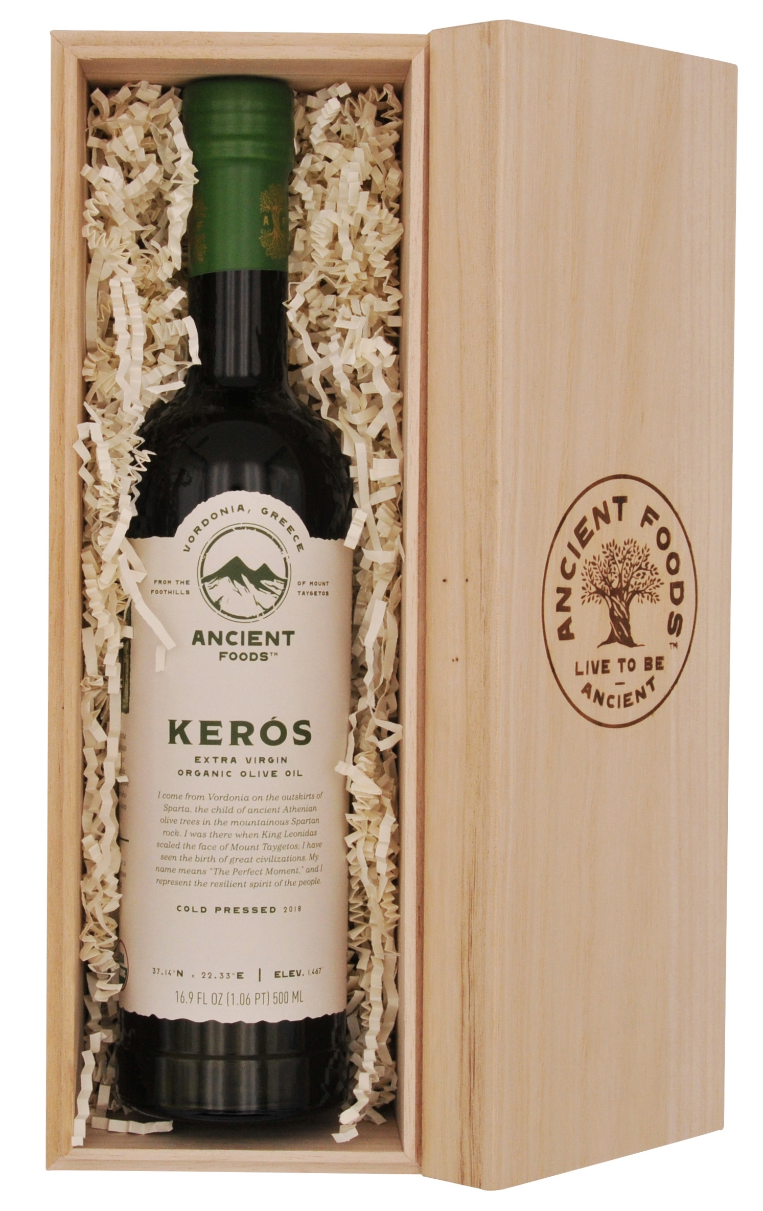 Gift Box: 1 Keros Olive Oil Bottle
