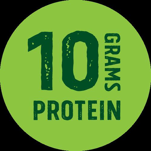 10 g de protéines végétales