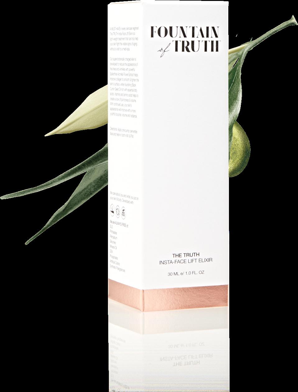 The Truth Insta Face Lift Elixir - Clean Face Elixir