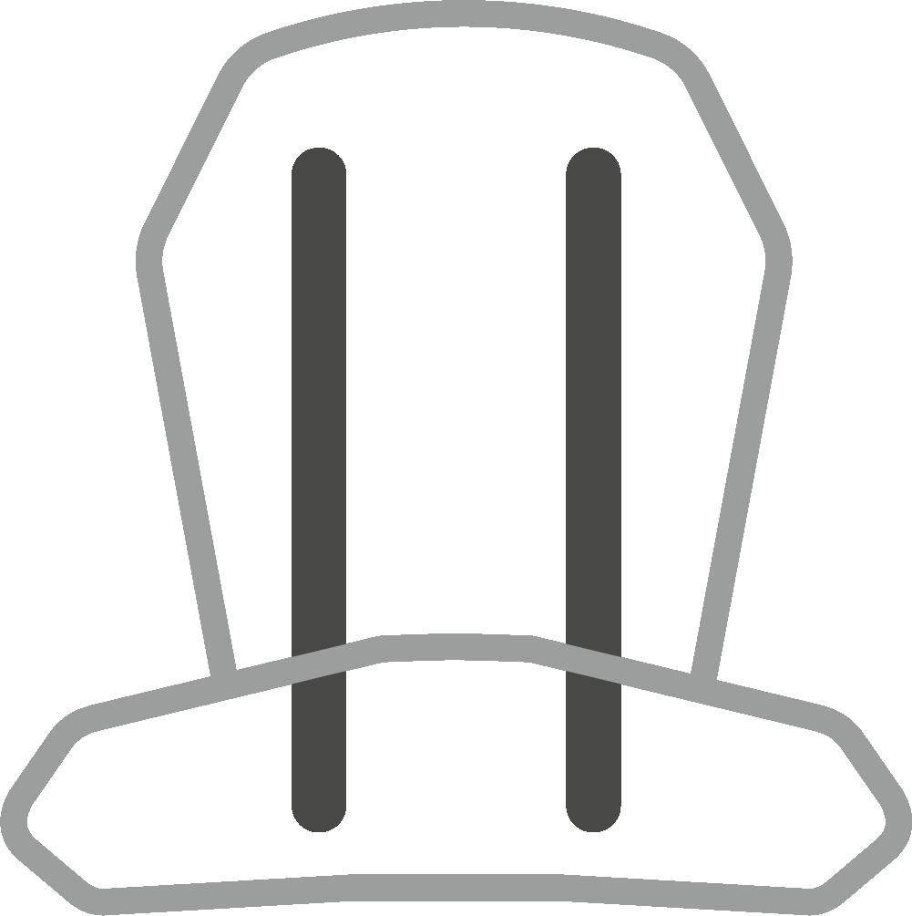 FLAT STEEL FRAME -Deuter