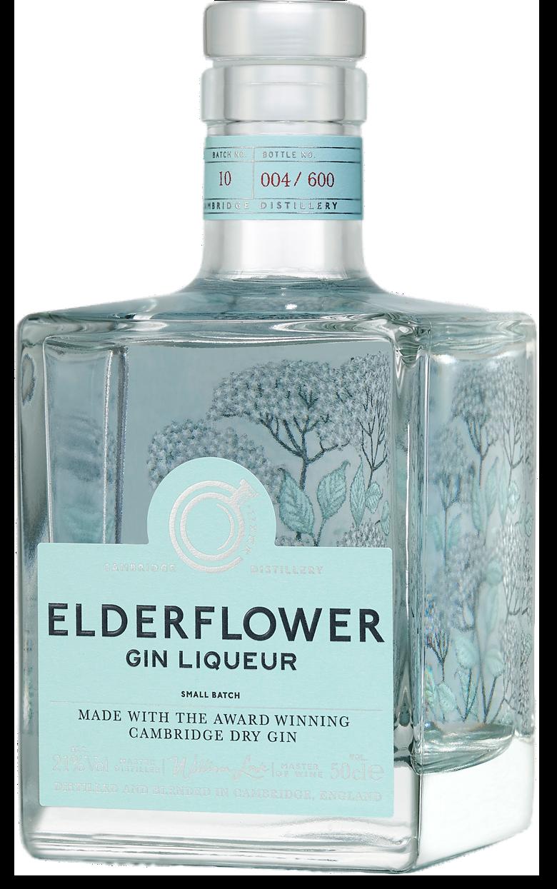 Elderflower Gin Liqueur (Alumni)