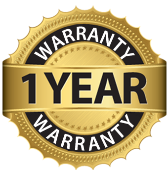 1 Year Manufacturer Warranty