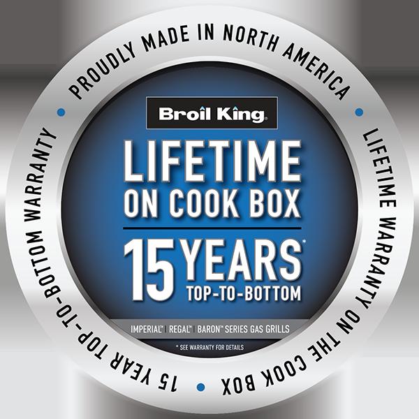 Limited Lifetime 15 Year Cookbox Warranty