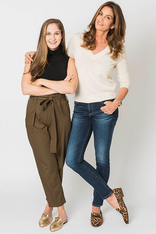 Sarah Flint & Cindy Crawford