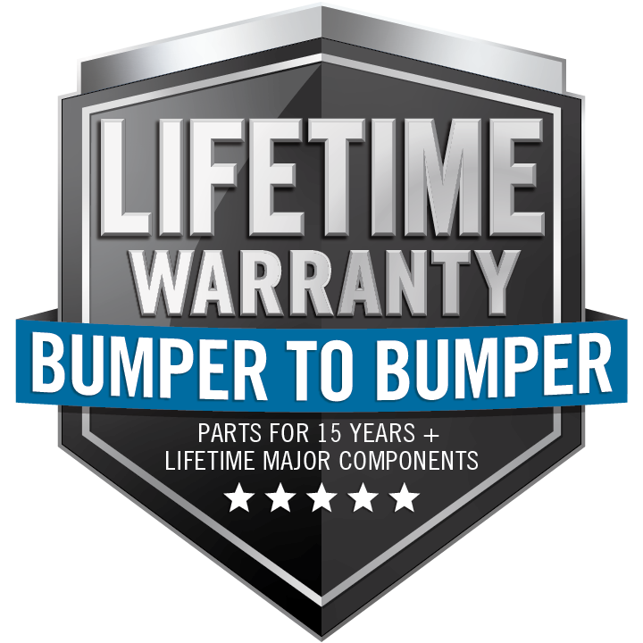 NAPOLEON LIMITED LIFETIME BUMPER TO BUMPER Warranty