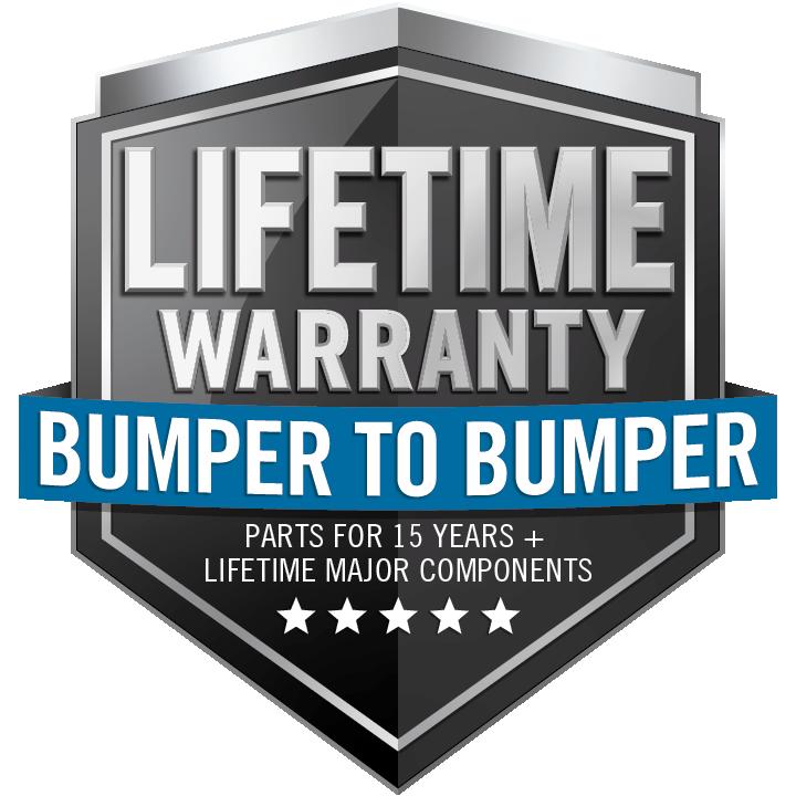 NAPOLEON LIMITED LIFETIME BUMPER TO BUMPER Warranty