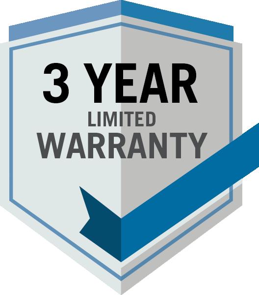 Napoleon 3 Year Limited Warranty