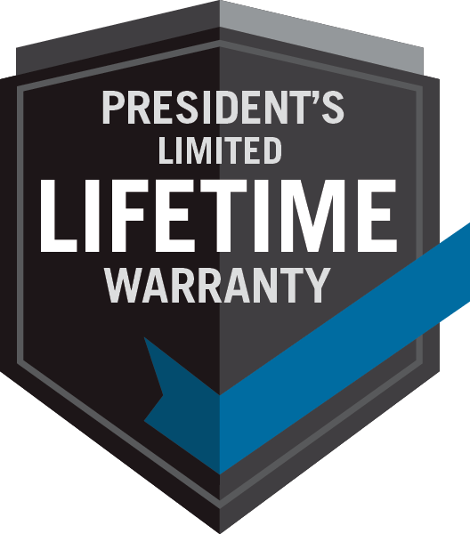 Napoleon President Limited Lifetime Warranty