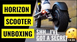 Unboxing by Electric Scooter Insider
