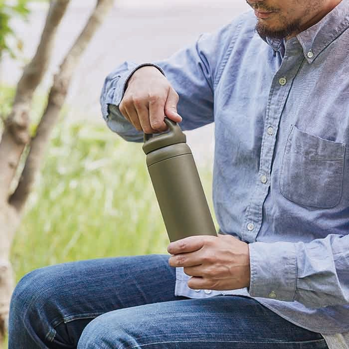 KINTO DAY OFF TUMBLER 500ML / 17OZ  KHAKI