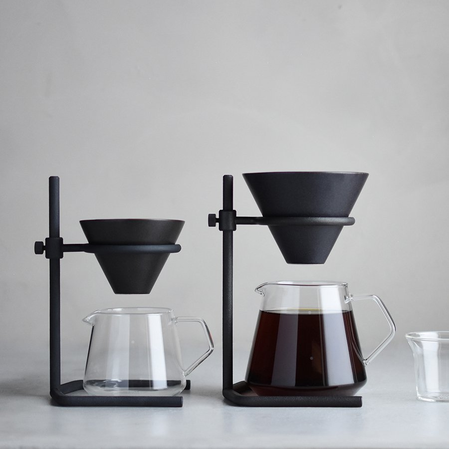 KINTO SCS-S04 BREWER STAND SET 2CUPS BLACK-NO-COLOR THUMBNAIL 2