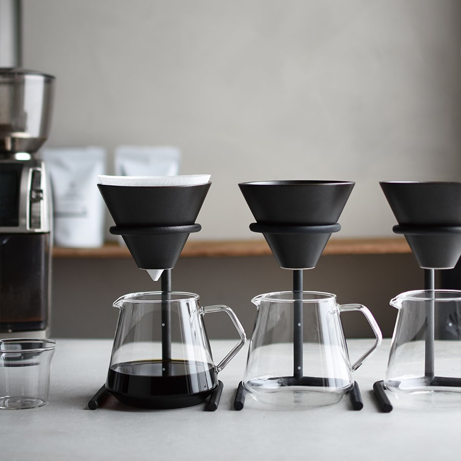 KINTO SCS-S04 BREWER STAND SET 4CUPS BLACK-NO-COLOR THUMBNAIL 3