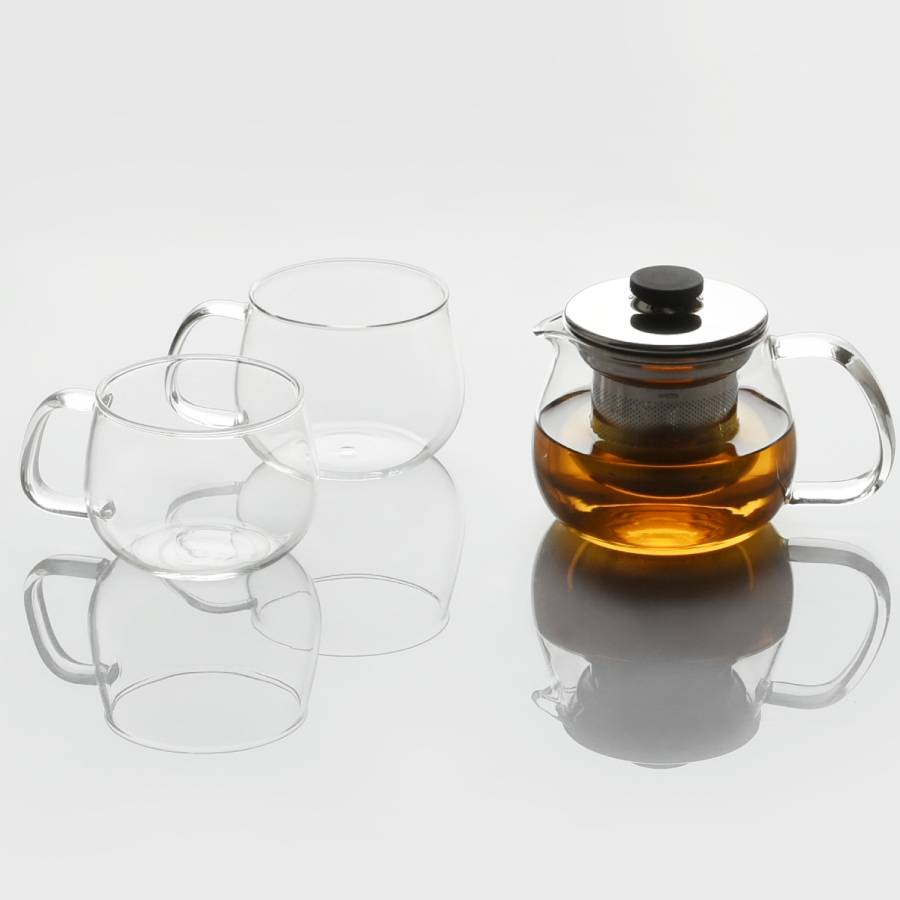 KINTO UNITEA TEAPOT 450ML / 17OZ STAINLESS STEEL STAINLESS STEEL