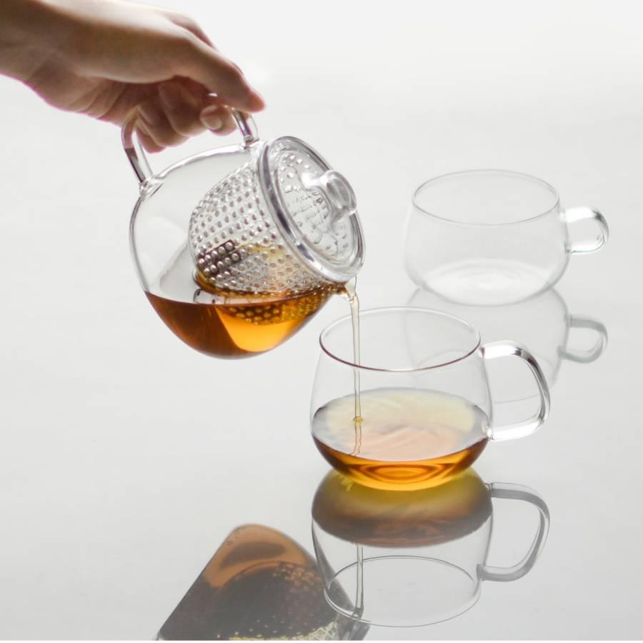 UNITEA teapot 450ml / 17oz plastic