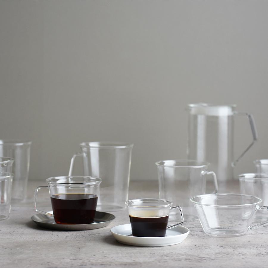 KINTO CAST GREEN TEA GLASS 180ML / 6OZ CLEAR THUMBNAIL 2