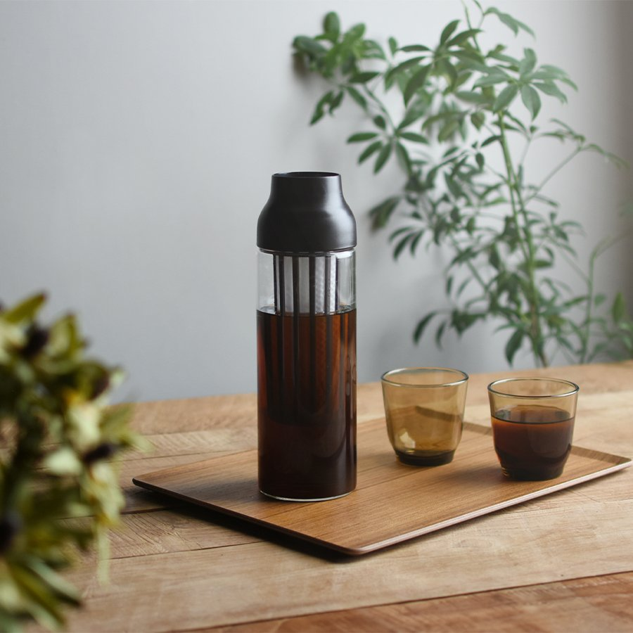 KINTO CAPSULE COLD BREW CARAFE / 34OZ DARK BROWN THUMBNAIL 3