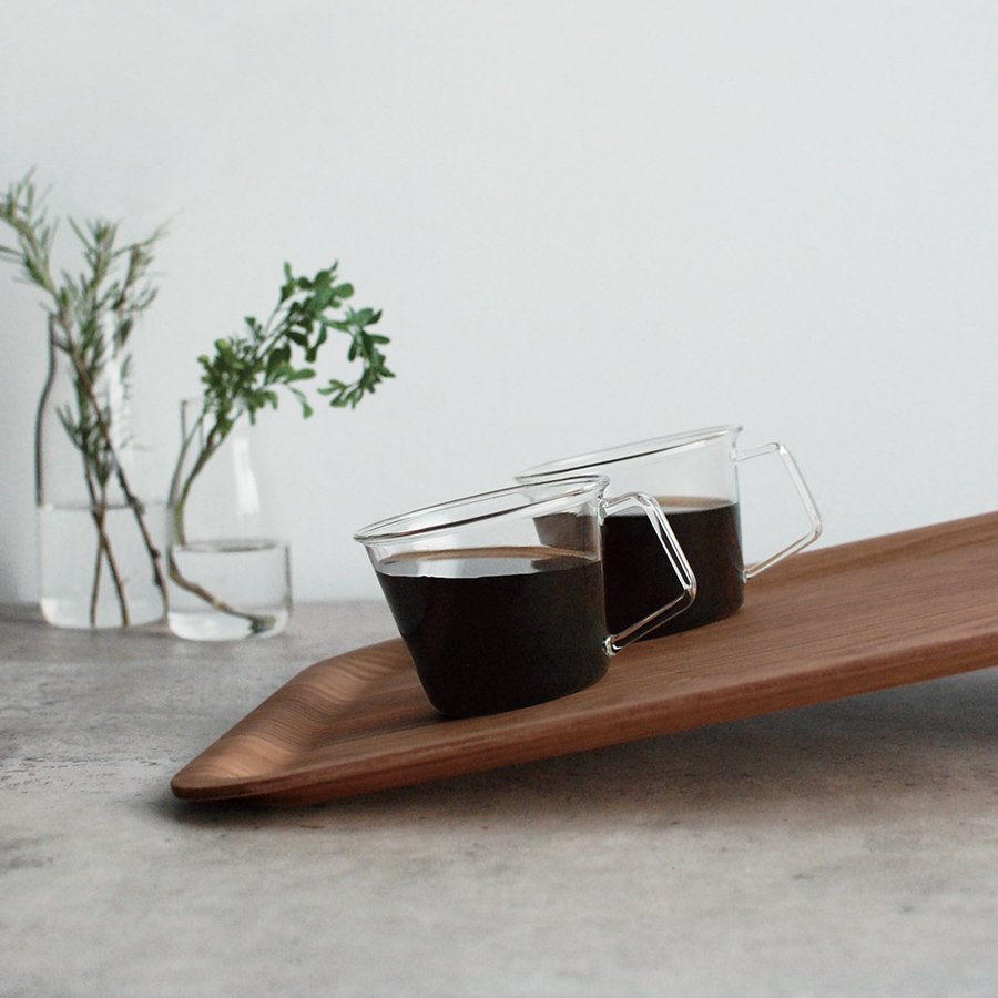 KINTO NONSLIP TRAY 430X330MM / 17X13IN TEAK