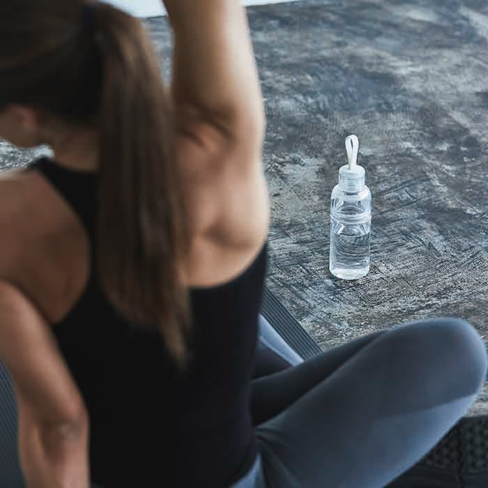 KINTO WORKOUT BOTTLE 480ML / 16OZ CLEAR THUMBNAIL 1