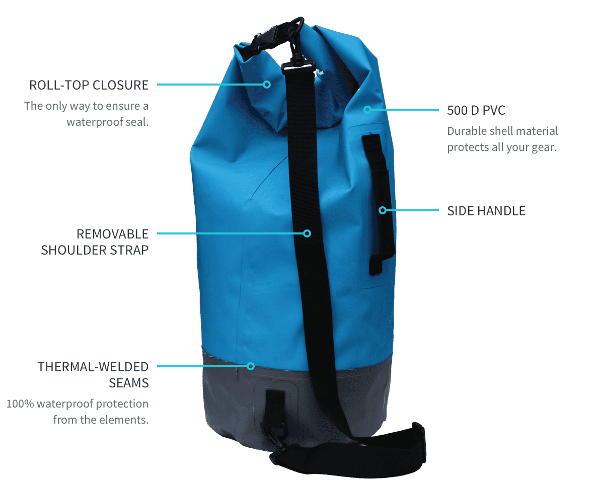 Waterproof Dry Bags Waves Gear