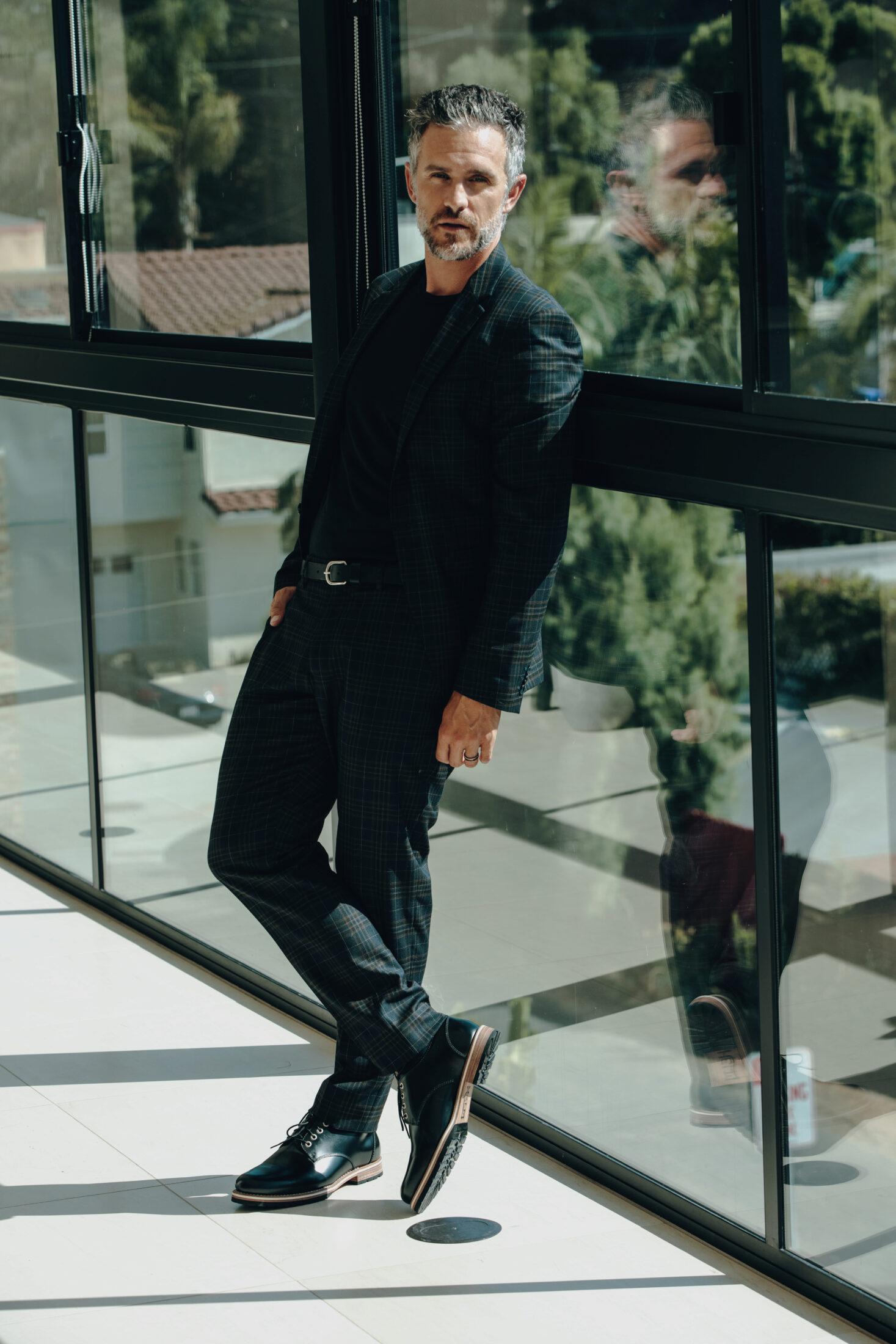 The Nils Black being worn