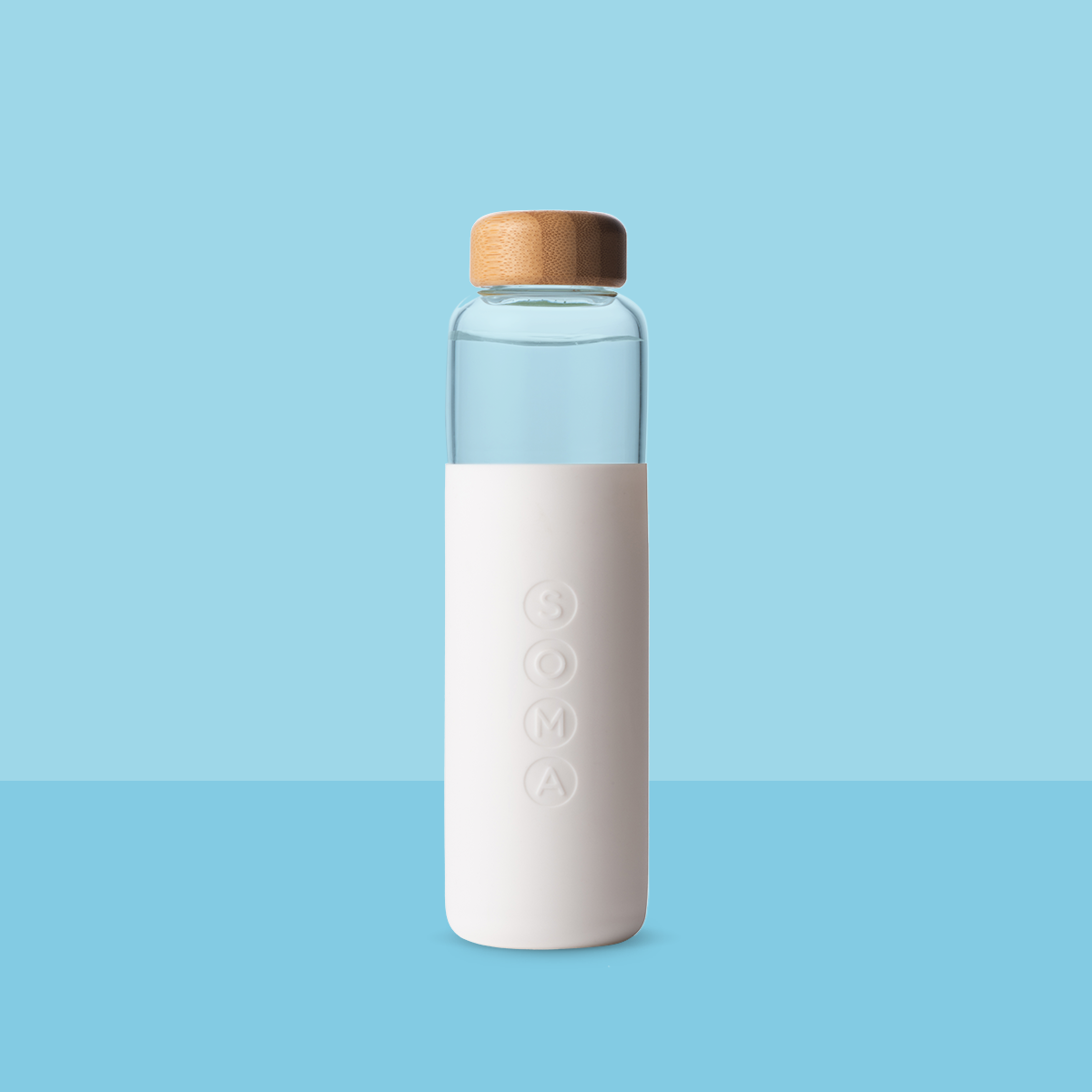 V2 17 oz. Glass Water Bottle