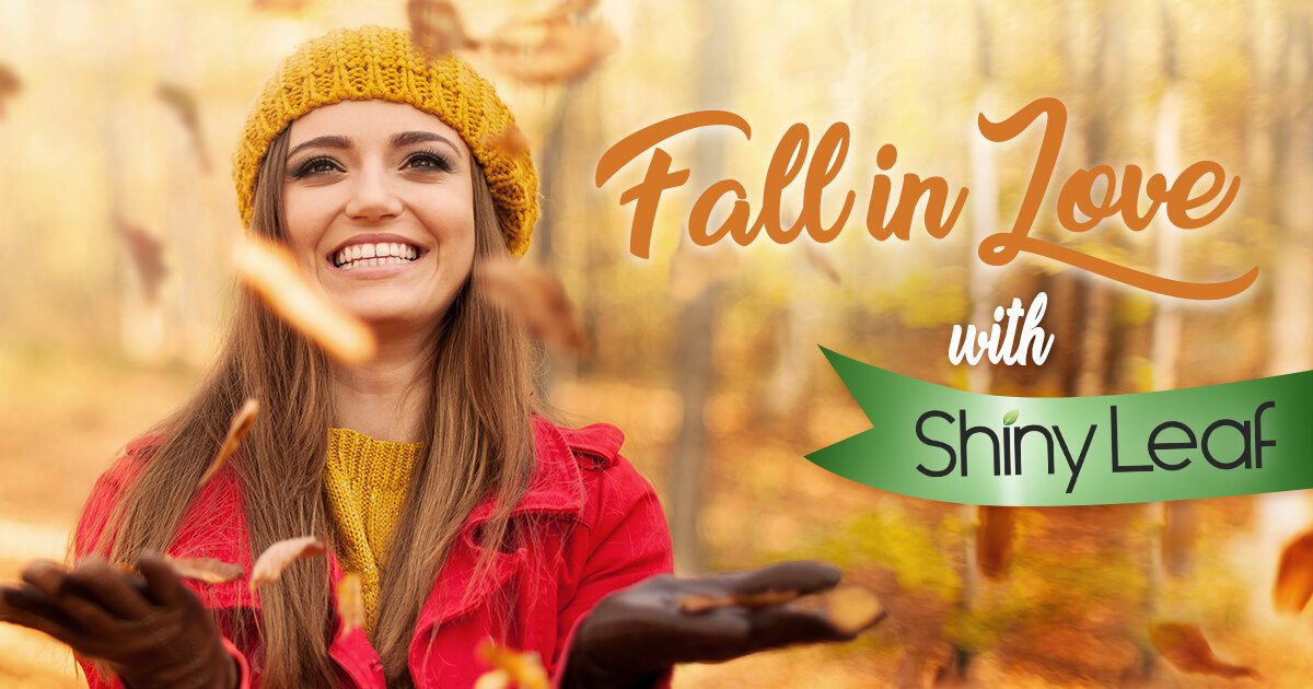 Fall in Love with Shiny Leaf Giveaway