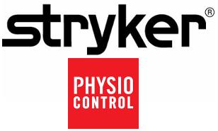 Lifepak 20 & 20e Defibrillator & Accessories by Physio Control / Stryker logo