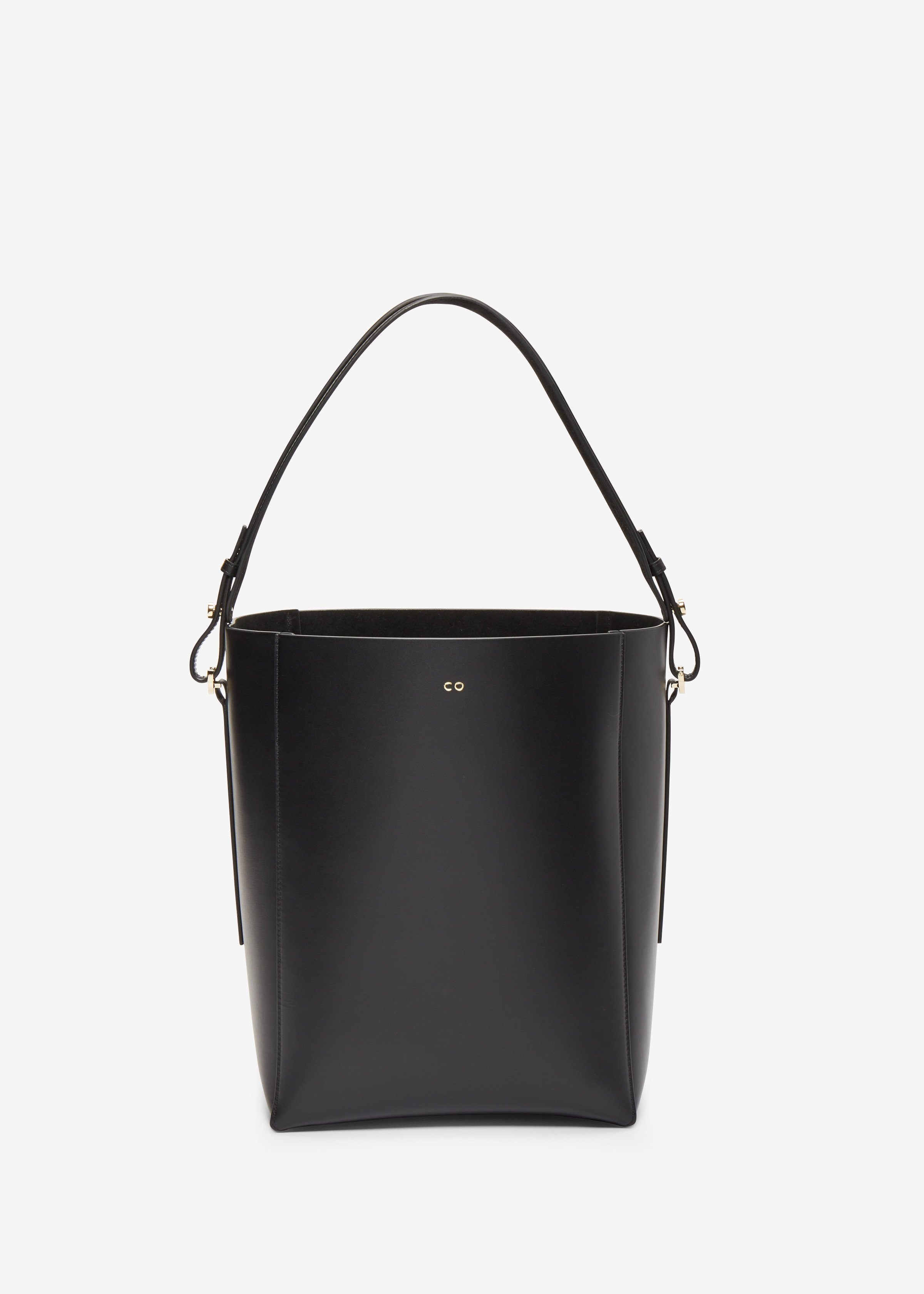 Bucket Bag in Smooth Leather - Co Collections
