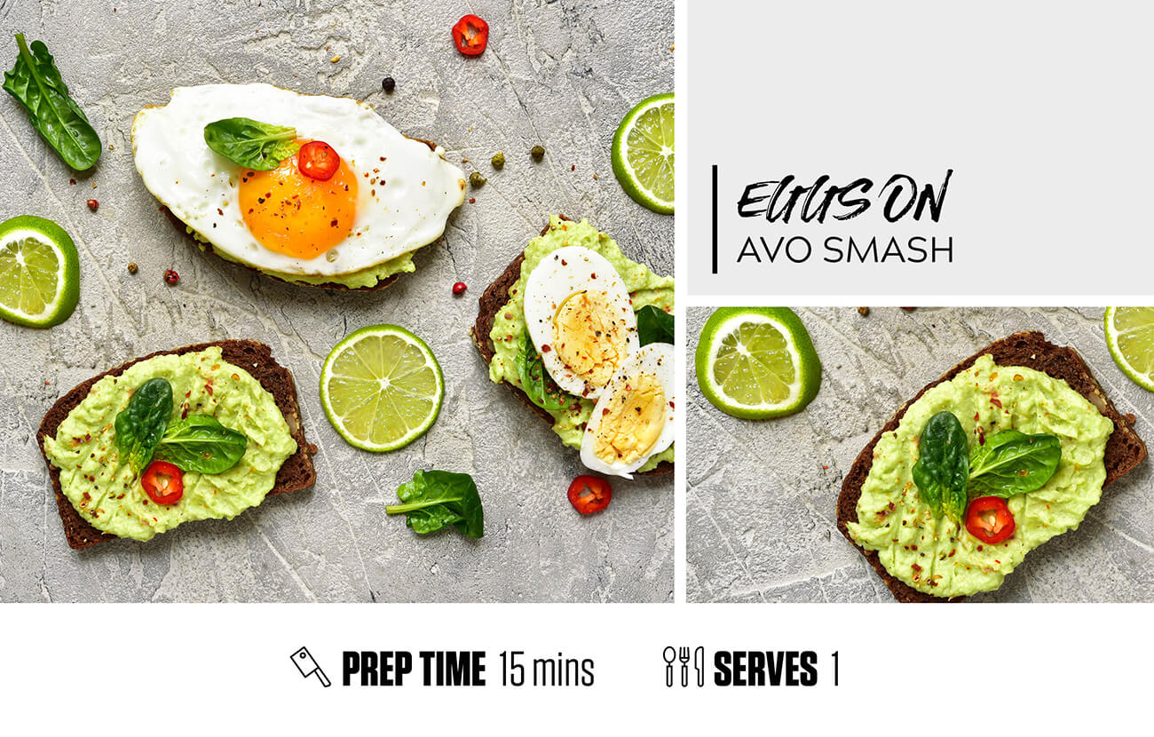 Eggs on Avo Smash