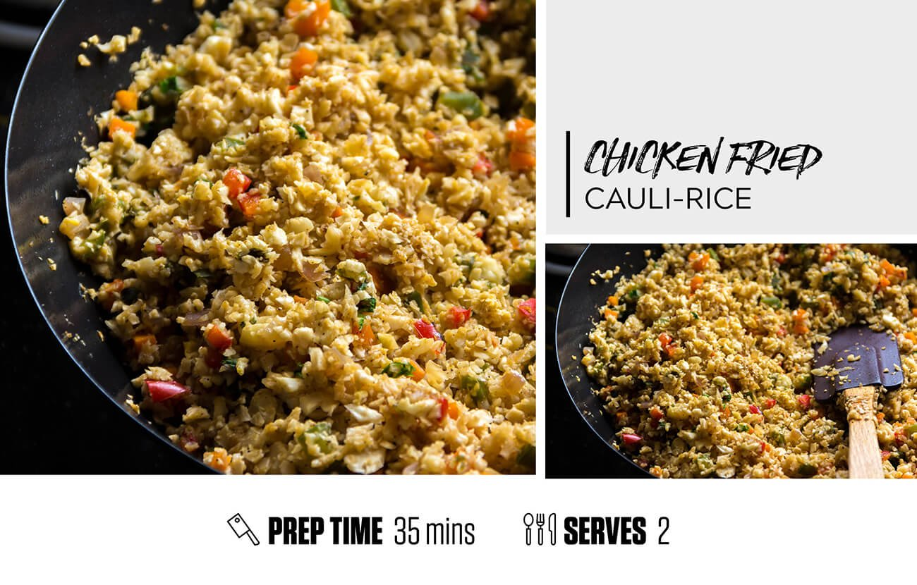 Chicken Fried Cauli Rice