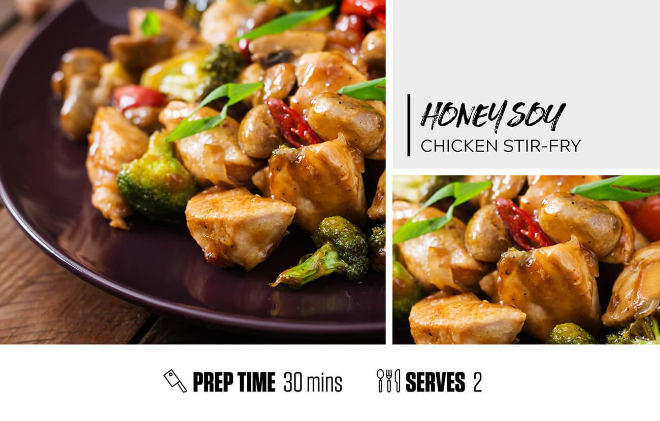 Honey Soy Chicken Stir-Fry