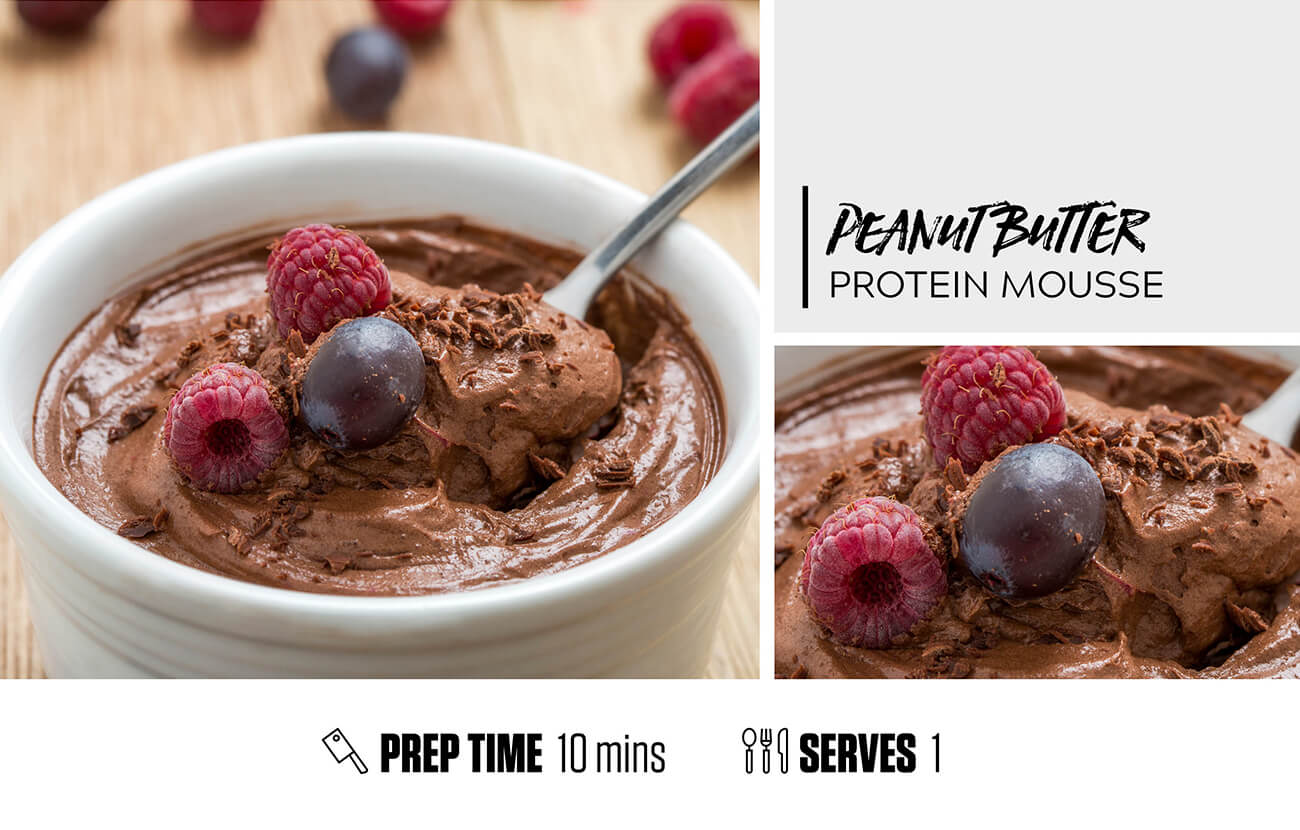Peanut Butter Protein Mousse