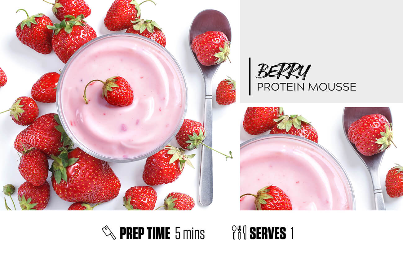 Berry Protein Mousse