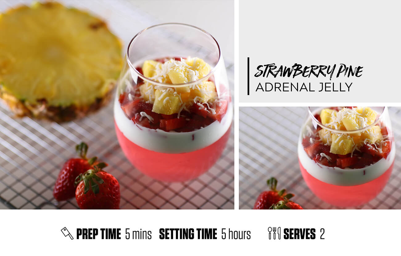 Strawberry Pineapple Adrenal Jelly