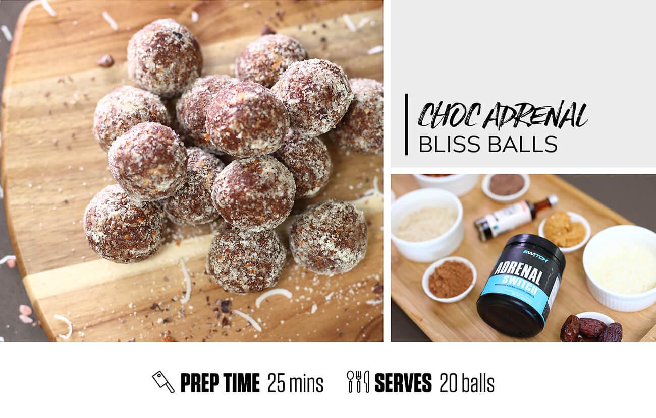 Choc Adrenal Bliss Balls