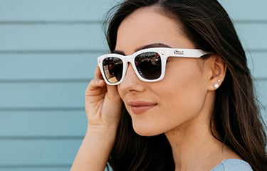 Sunglasses size on model
