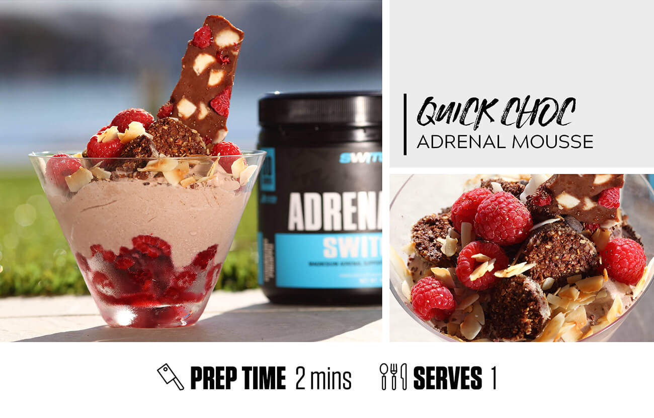 Quick Choc Adrenal Mousse