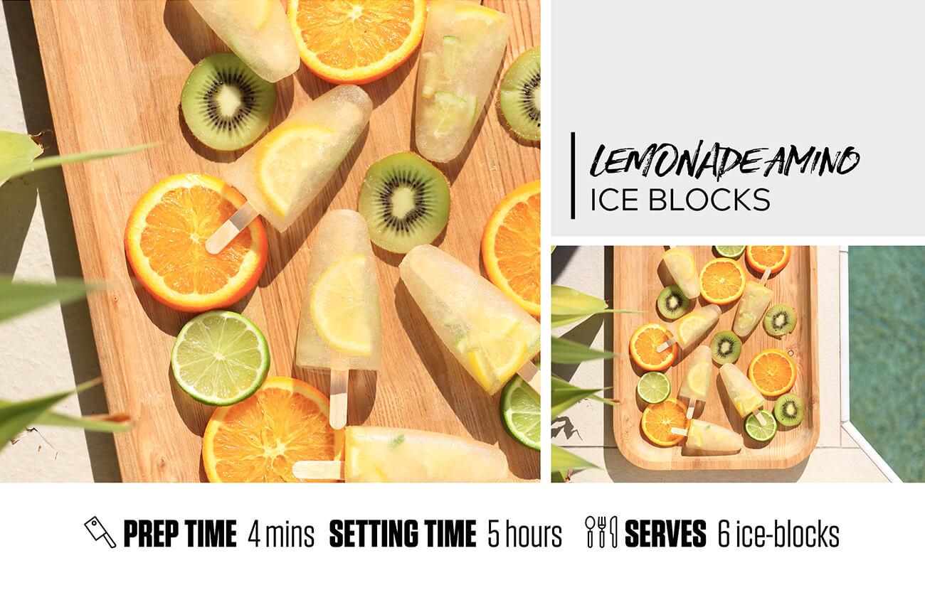 Lemonade Amino Ice-Blocks