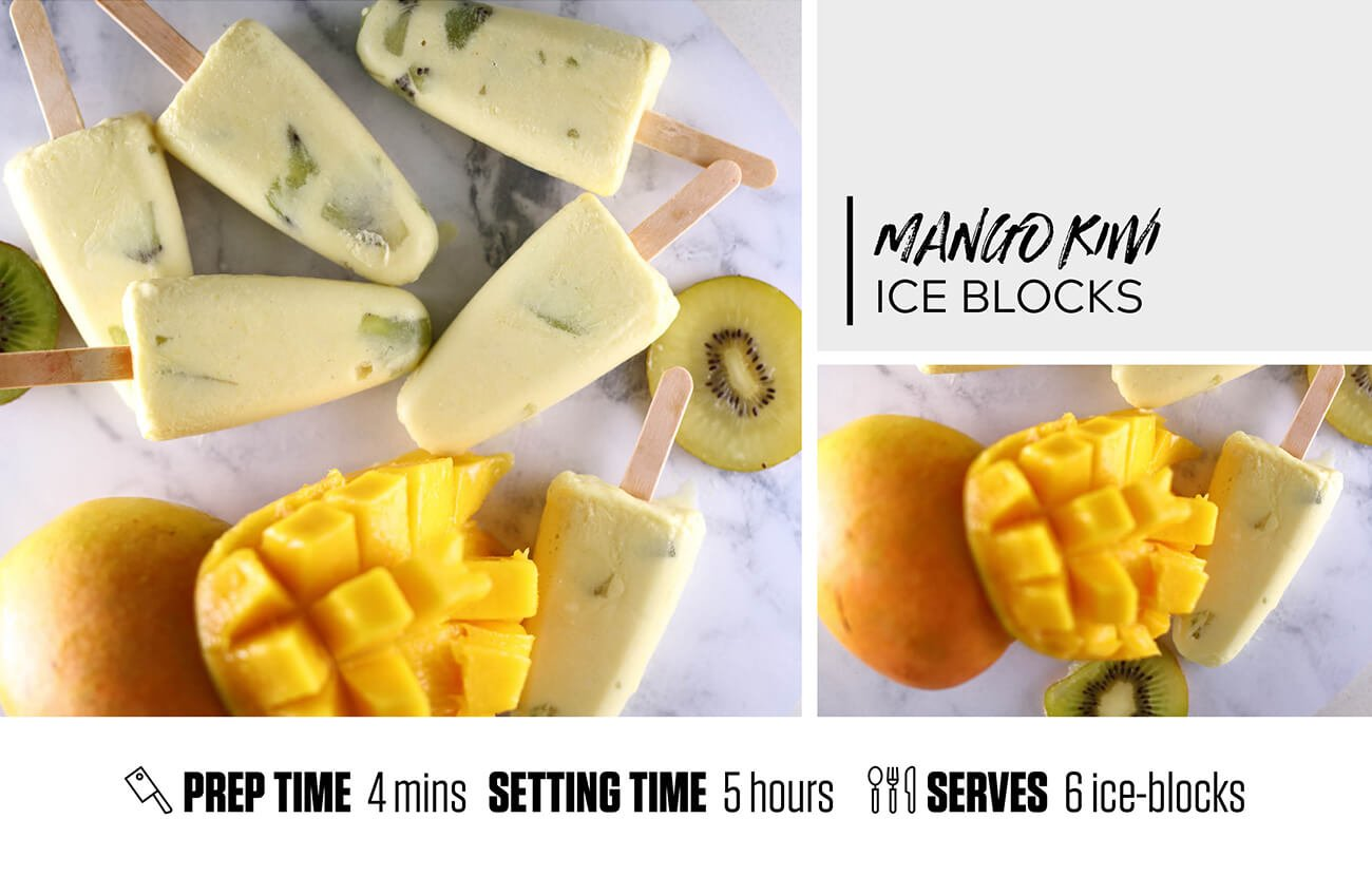 Mango Kiwi Amino Ice-Blocks
