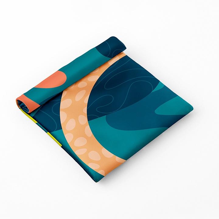 Esembly petite pouch in brushstroke