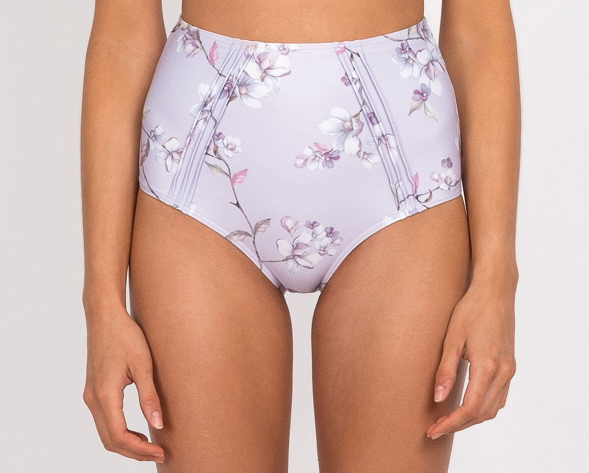 Blossom Pintucked Hi Pant