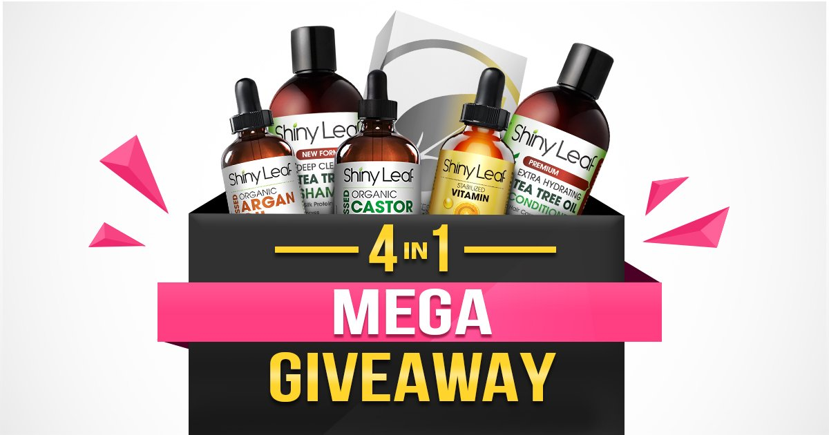 Shiny Leaf 4-in-1 Mega Giveaway