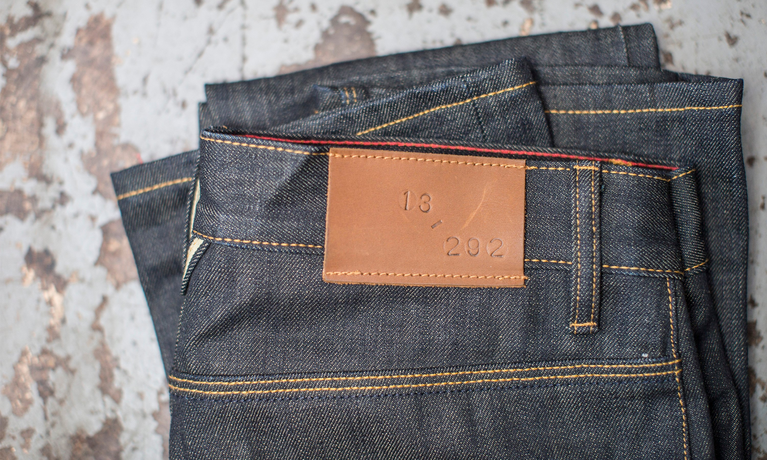 _Tab Editioned Line - men's limited ed jeans - OG only featured image