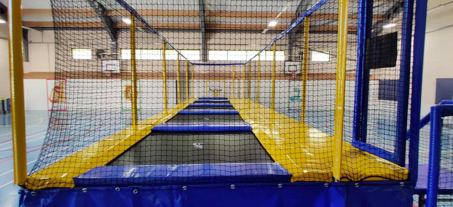 Trampolines for soft play and high footfall events