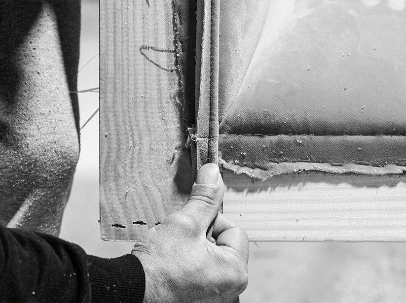 Factory image of Craftsmen Making Frame