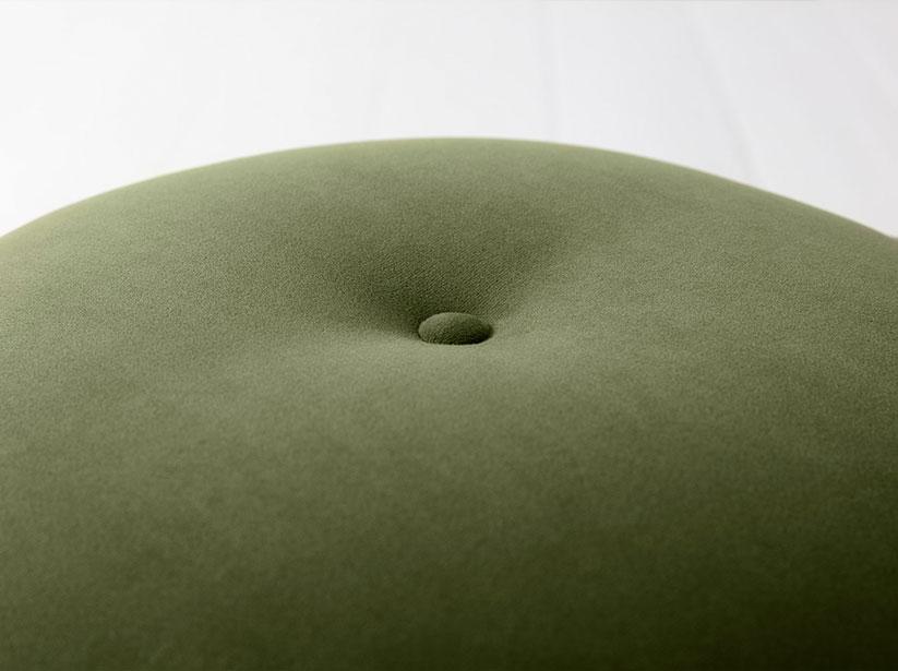 Close up of Model 00 seat cushion