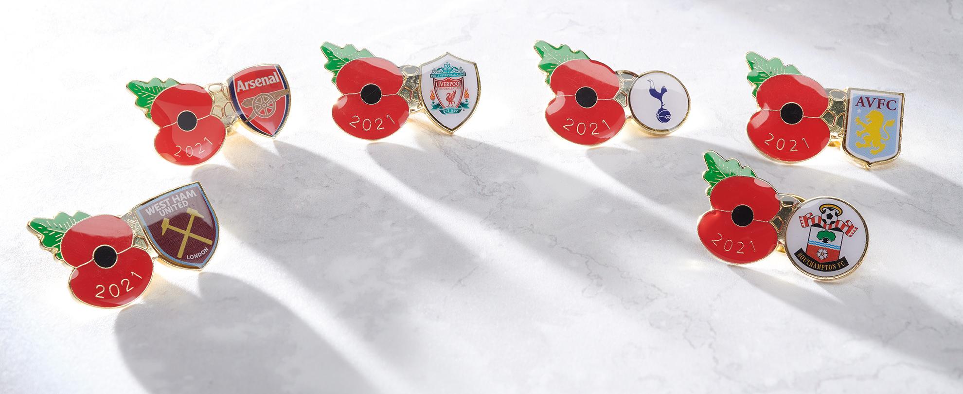 National League Football Pins