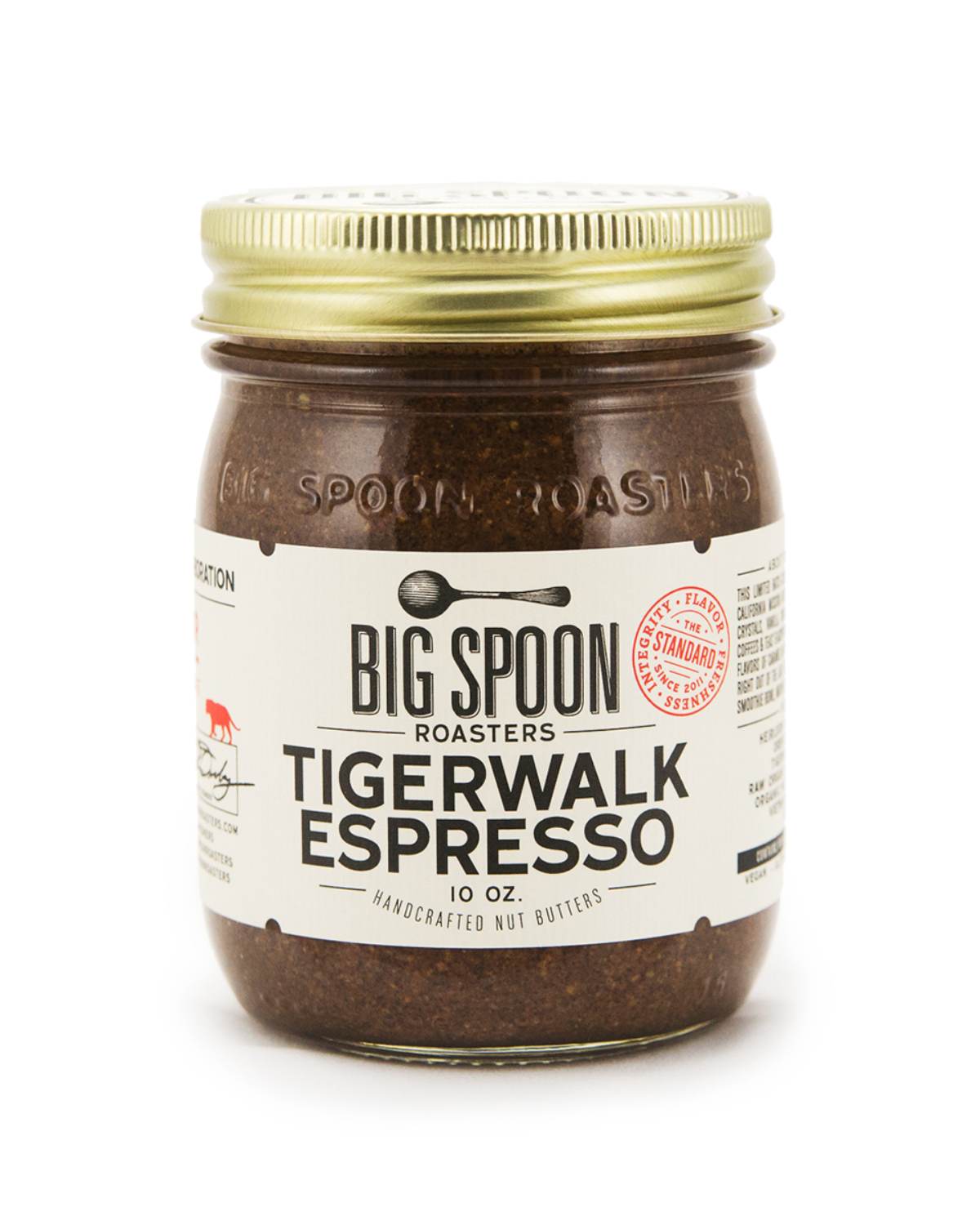 Big Spoon Tigerwalk Espresso Nut Butter