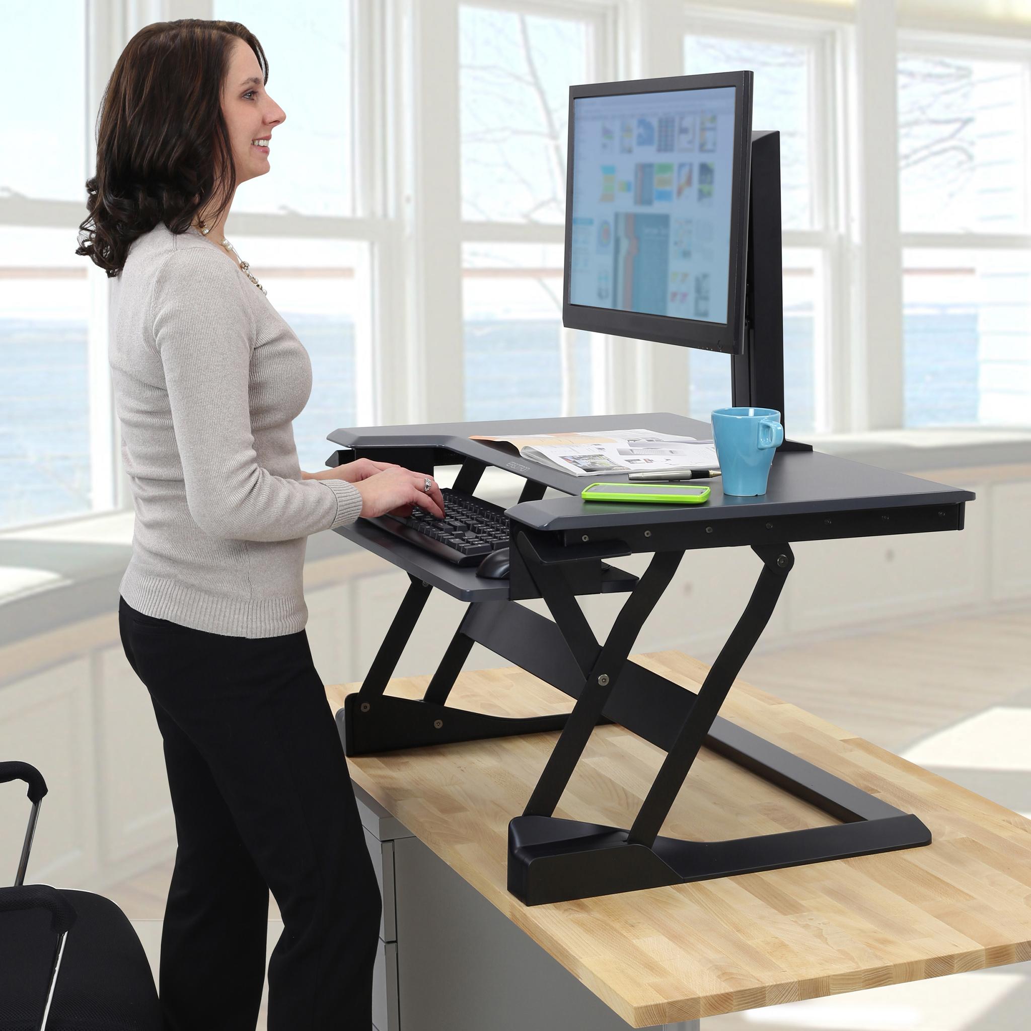 Ergotron WorkFit-T/TL Standing Desk Converter